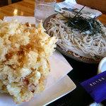手打ち蕎麦 神楽坂 - 料理写真:手打ち蕎麦 神楽坂 かきあげせいろ