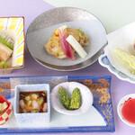 日本料理 矼 - 6月季節御膳「晴嵐」