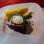 オステリアエンメ - チョコレートのケーキ