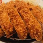 かつ饗 - 若鶏のジューシーかつ定食