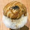 吉岡茶房 - 料理写真:かき氷 さつまいもミルク(ハーフ)