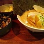 田じまや - ミニネギチャーシュー丼セット
