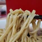 ラーメン二郎 - 麺をサルベージ