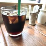 オマエダ カフェ - 水素水のアイスコーヒー