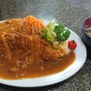 白十字食堂 - 料理写真:カツカレー 950円 全景