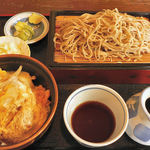 林屋食堂 - ミニカツ丼セット