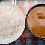 カンティプール - 料理写真:チキンカレー