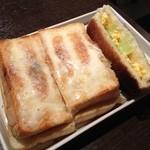 ウィズカフェバール ケー - チーズ焼きたまごサンド!