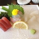 活魚の味里 - 料理写真:刺身定食