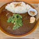 はらっぱカレー店 - マトンカレー(1日5食限定)