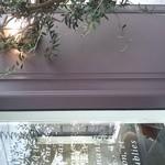PÂTISSERIE DOUNEL - 横にオリーブの木と灯りです。