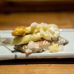 酒井商会 - 太刀魚 ホワイトアスパラ 塩レモン焼き