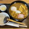 こだわり麺処 かとう - 料理写真:カレーうどん(+温玉チーズ)