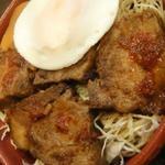 柳生精肉店 - 料理写真:豚角煮丼
