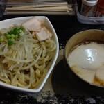 きじ亭 - 濃厚つけ麺(魚介・大盛)