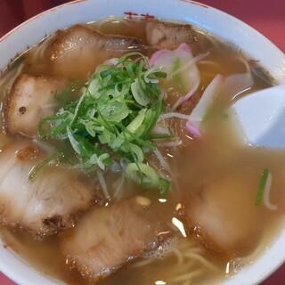 大島軒 - 料理写真:チャーシュー麺