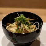 うを徳 - 2021.5 賀茂茄子山形ホワイトアスパラガス富山大門素麺