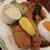 レストラン・ケルン - 料理写真:タルタルソースとカニクリームコロッケ&海老フライ