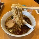支那そば 勝丸 - 麺が♪( ´θ`)