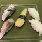 下町丸竹都寿司 - 追加単品 小肌、〆さば、かずのこ、いか