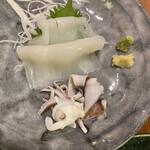 下町丸竹都寿司 - イカ刺し