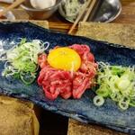 オカン焼肉 紅ちゃん - 牛タンユッケ