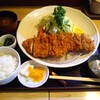 こばやし亭 - 料理写真:北海道産日高四元豚「神威豚」上ロースカツ定食