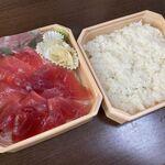 まぐろ亭 - 料理写真:鉄火丼