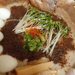 152174499 - 秋刀魚だくラーメン♪(オミヤ麺)