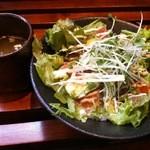 kawara CAFE&DINING + PLUS - サーモンとアボカドのヘルシー丼