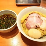 らぁ麺 はやし田 - 特製つけ麺1,050円+大盛100円!