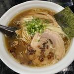 らーめん 麺の月 - 料理写真:醤油らーめん大盛
