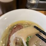 自家製麺 竜葵 - 穂先メンマ