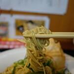麺房 昭和呈 - まぶし麺リフト