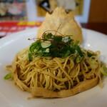 麺房 昭和呈 - まぶし麺アップ