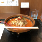 喜久屋 - 料理写真:激辛ラーメン960円。ラーメンと一緒に割り箸を出されます。