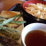 1522542 - 野菜天ぷらうどん(大盛り)700円