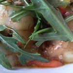 cafe nagisa - 注文した「野菜の肉味噌炒め」はカブを中心に野菜盛り沢山。