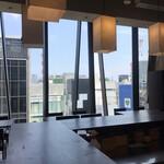 日本酒バル のまえ - 席からの風景
