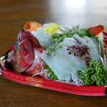JAファーマーズ - 料理写真:赤はた刺身