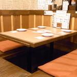 ぼう家 - その他 テーブル席もあります