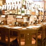 ぼう家 - お酒を見ながら選べるカウンター席