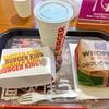 バーガーキング - ドリンク写真:ワッパーチーズセット!