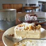 SAN - チーズケーキとカッサータ