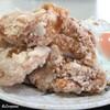 食堂 田舎家 - 料理写真:鶏天風の鶏の唐揚げ