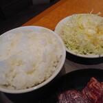 焼肉どうらく×餃子伝説 -