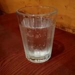 OSTERIA il FUOCO - ランチタイムなのに炭酸水を出して下さるなんて❤️とても嬉しいお心遣い⭐️