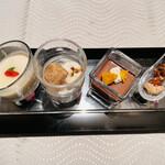 翆陽 - デザート4種
