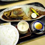 和食処旭屋 - あいなめ煮付;1380円(特別メニュー 2012)
