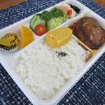 街の小さなレストラン 9.9.9 - 料理写真:【ハンバーグ弁当 1280円】